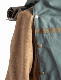Green and Gold Kapital Kamakura Jacket mens coats price