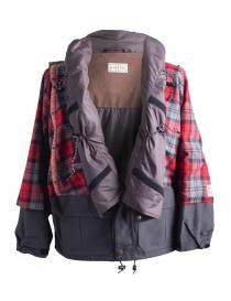 Giacca Kapital Kamakura Nera e Rossa cappotti uomo acquista online