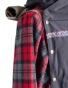 Giacca Kapital Kamakura Nera e Rossa  prezzo K1711LJ216shop online