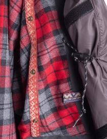 Giacca Kapital Kamakura Nera e Rossa acquista online prezzo