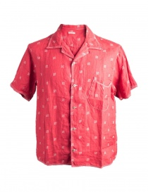 Mens shirts online: Kapital Red Shirt K1506SS190