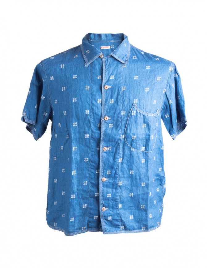 Kapital Blue Shirt K1506SS190 K1506SS190 mens shirts online shopping