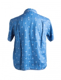 Camicia Blu Kapital K1506SS190