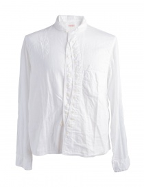 Mens shirts online: Kapital Long Sleeves White Shirt K1509LS8