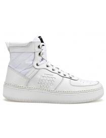Sneaker alta BePositive full white (uomo) online