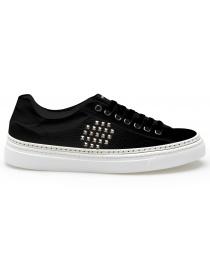 Sneakers BePositive Track_02 nere (donna) 8SWOARIA11-CRU-BLK order online