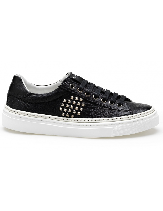 BePositive Black Sneakers Track_02 (man) 8SARIA11-TUM-BLK mens shoes online shopping