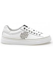 Outlet Novedades Sneaker Alta Bepositive Nera Con Suola Bianca (donna) Tienda Online OpBZg
