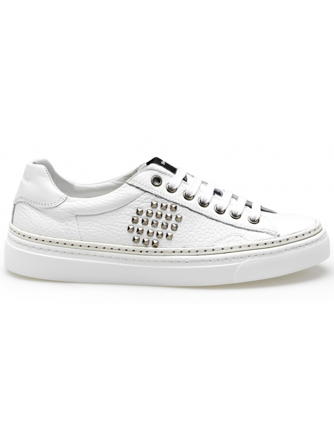 BePositive Full White Sneakers Track_02 (man) 8SARIA11-TUM-WHITE mens shoes online shopping