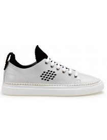 BePositive Sneakers white Ambassador model with inside black sock online