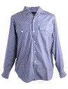 Blue Dotted Haversack Shirt buy online 821803/59 SHIRT