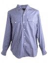 Camicia Blu a Pois Bianchi Haversack acquista online 821803/59 SHIRT