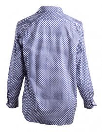 Camicia Blu a Pois Bianchi Haversack