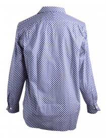 Camicia Blu a Pois Bianchi Haversack acquista online