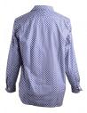 Camicia Blu a Pois Bianchi Haversackshop online camicie uomo