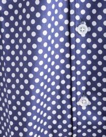 Camicia Blu a Pois Bianchi Haversack prezzo