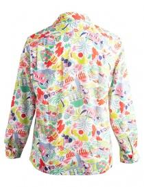 Camicia Haversack a fantasia colorata da spiaggia