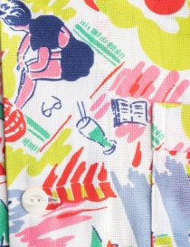 Patterned Haversack shirt with beach drawings price