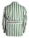 Giacca Haversack a strisce bianche e verdishop online giacche uomo