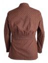 Giacca marrone Haversack con rombi in rilievoshop online giacche uomo