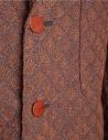 Brown Haversack Jacket with embossed diamond pattern 871808/34 JACKET buy online