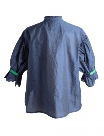 Blue Kolor Shirt with green band