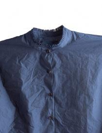 Camicia Blu Kolor con banda verde prezzo