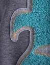 Kolor fleece gray dress with embroidered K 18SPL-O04222 GRAY buy online
