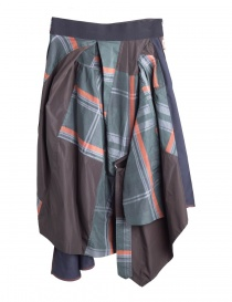 Asymmetrical Kolor skirt 18SPL-S01103 BLUE