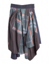 Asymmetrical Kolor skirt buy online 18SPL-S01103 BLUE