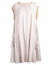 Kapital beige linen dress K1405OP141