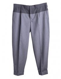 Pantaloni Grigi Kolor con la piega online