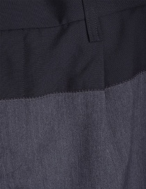 Gray Kolor Pleated-Front Trousers price