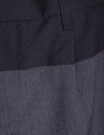Pantaloni Grigi Kolor con la piega prezzo