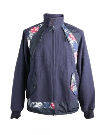 Flower Patterned Kolor Jacket 18SCM-G02102 NAVY