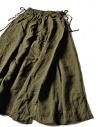 Gonna Kapital in lino colore verde K1705LP217-PANT-KHAKI prezzo