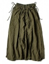 Kapital linen green skirt shop online womens skirts