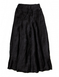 Kapital black divided skirt K1610LP162 BLK