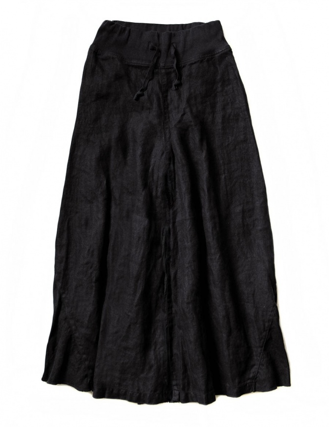 Kapital black divided skirt K1610LP162 BLK womens trousers online shopping