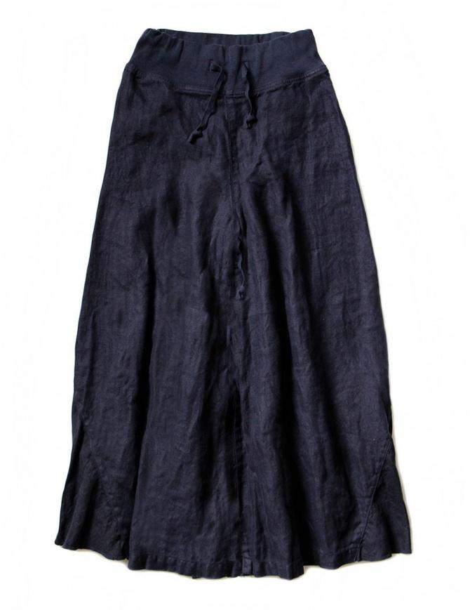 Kapital navy divided skirt K1606LP294 NAVY womens trousers online shopping