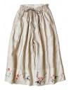 Pantalone Kapital ricamata colore beige acquista online K1706LP293-SKIRT-BEIGE
