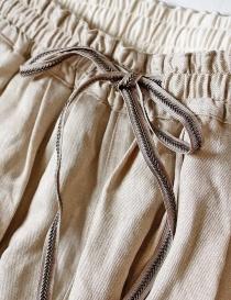 Pantalone Kapital ricamata colore beige prezzo