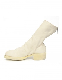 White leather Guidi 788Z ankle boots price