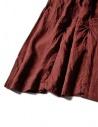 Gonna Kapital in lino colore rosso K1705LP217 PANT AUBERGINE prezzo