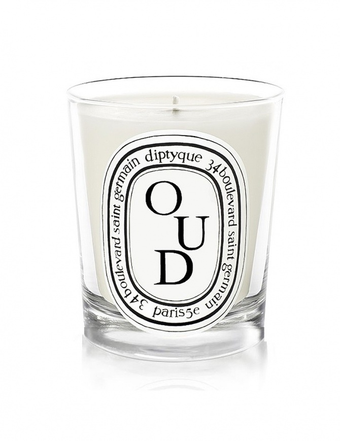 DIPTYQUE OUD SCENTED CANDLE odip1bou candles online shopping