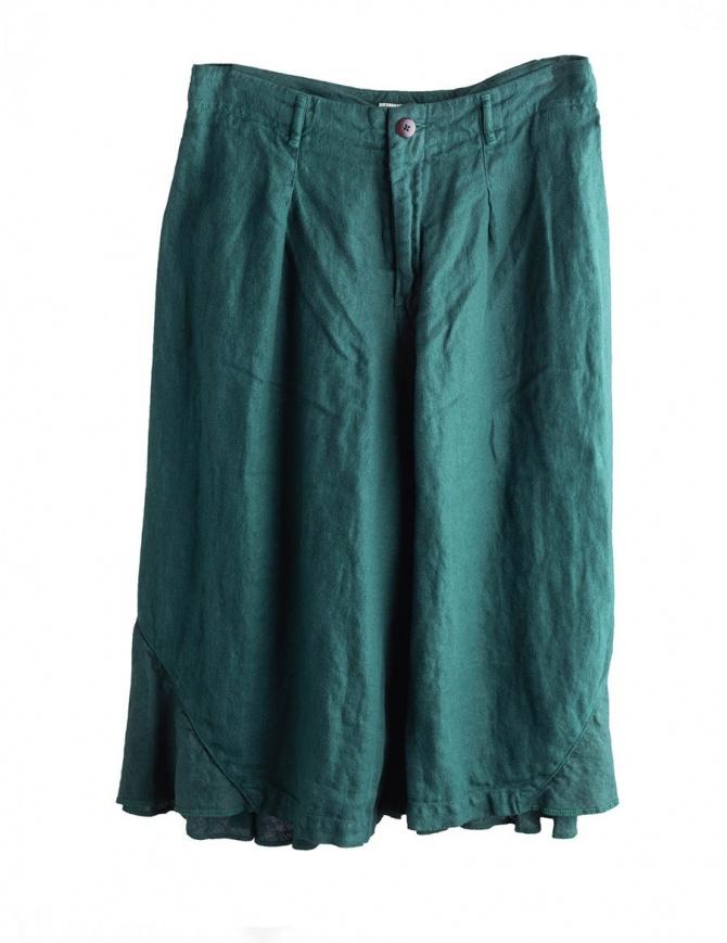 Green Kapital trousers K1604LP139 GREEN womens trousers online shopping