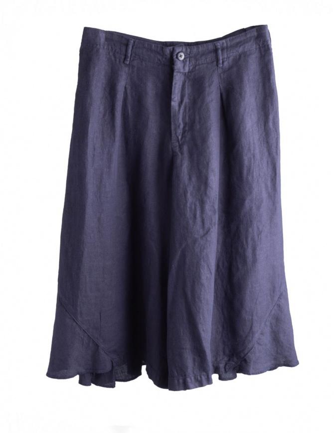 Pantaloni blu navy Kapital K1604LP139 pantaloni donna online shopping