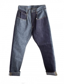 Kapital indigo denim jeans online