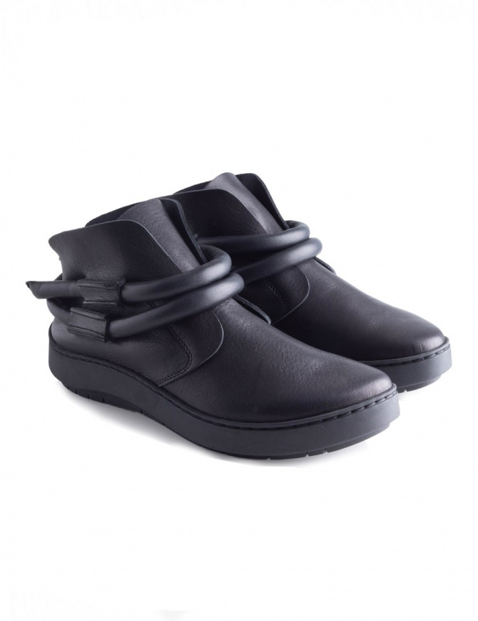 Trippen Dew Black Shoes DEW BLK BLK womens shoes online shopping