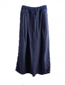 Pantalone lungo navy Kapital EK597 NAVY PANTS